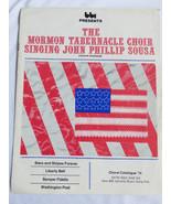 VTG 1974 BBI Mormon Tabernacle Choir Sheet Music song kit & Vinyl - $24.75