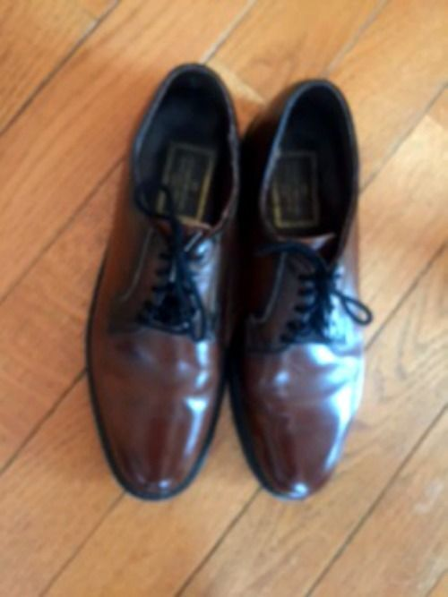 Primary image for Stuart McGuire Brown Leather Spring Step Cushion Dress Shoes SZ 9.5B USA