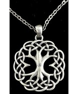 """CELTIC TREE OF LIFE NECKLACE - 22"""" Adj. Chain - $22.99"""