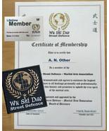 Martial Arts - Wu Shi Dao Street Defence Membership KARATE MMA JKD WING ... - $20.89