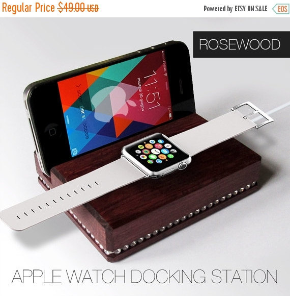 Primary image for Gift for her,gift for woman,Apple watch docking station Swarovski