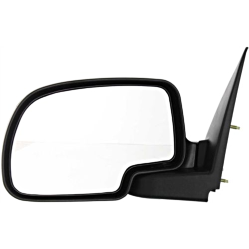 Primary image for Fits 00-06 Suburban Yukon Tahoe Left Driver Mirror Manual Chrome