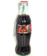 Coke Coca Cola Bottle 1995 Christmas Santa Clau... - $29.95