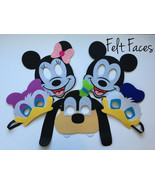 Mickey Mouse Clubhouse Party Mask, Mickey Mouse Clubhouse Party Favors - $12.50