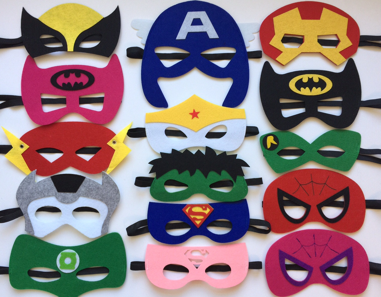 Primary image for Superhero Party Masks, Superhero Party Favors, Superhero Party Decorations
