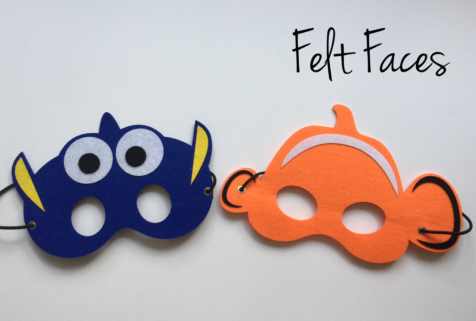 Primary image for Nemo and Dory Party Masks, Nemo Party Favors, Finding Dory Party Favors, Finding