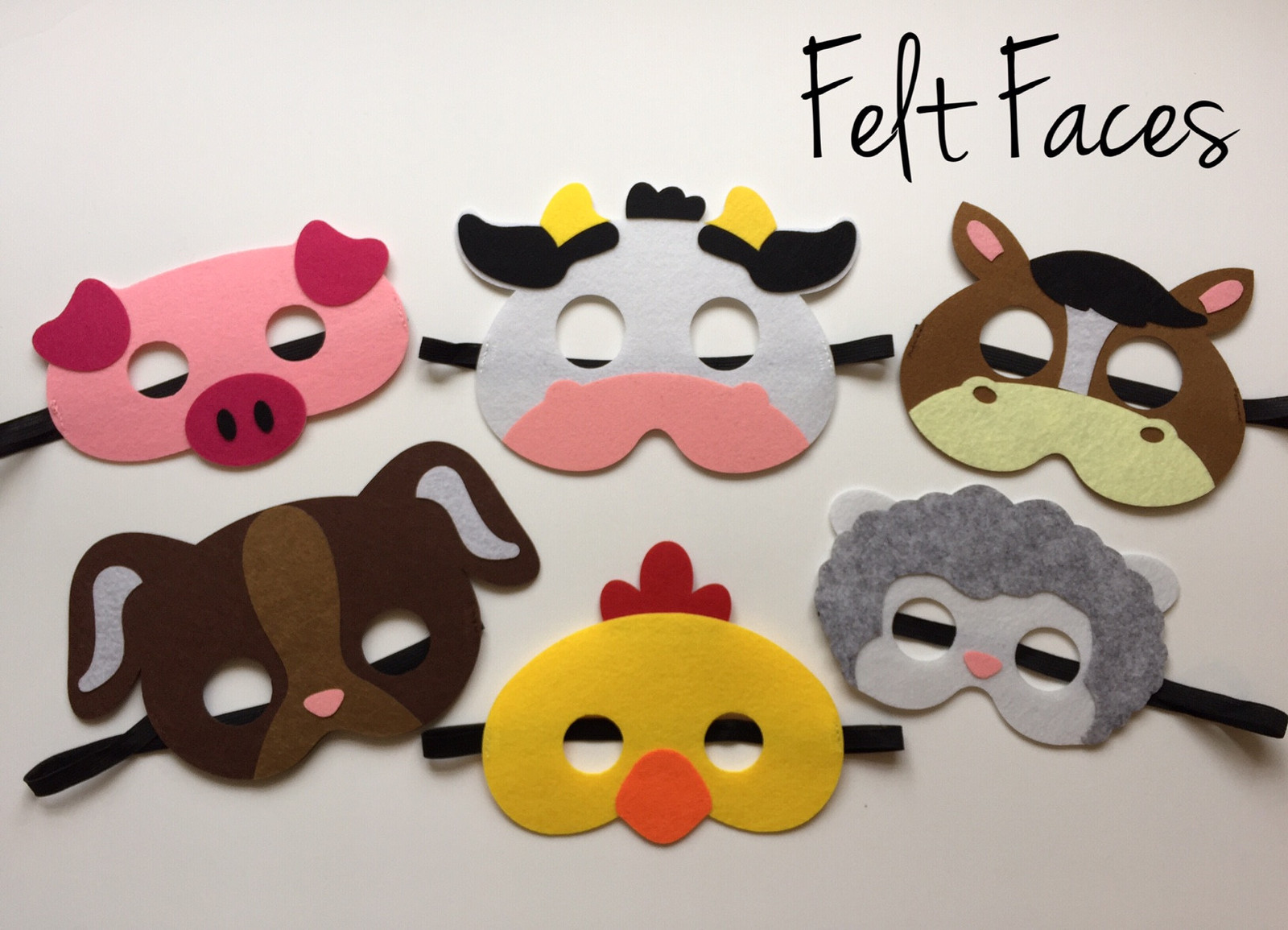 Primary image for Farm Animal Party Masks, Farm Animal Party Favors, Farm Animal Party Supplies