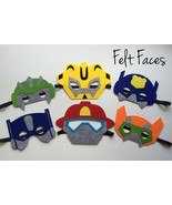 Rescue Bots Party Masks, Rescue Bots Party Favors, Rescue Bots Party Dec... - $15.00