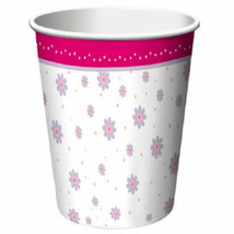 Tutu Much Fun Ballerina Ballet Dance Recital Birthday 9 oz Paper Cups 8 Ct - $4.69