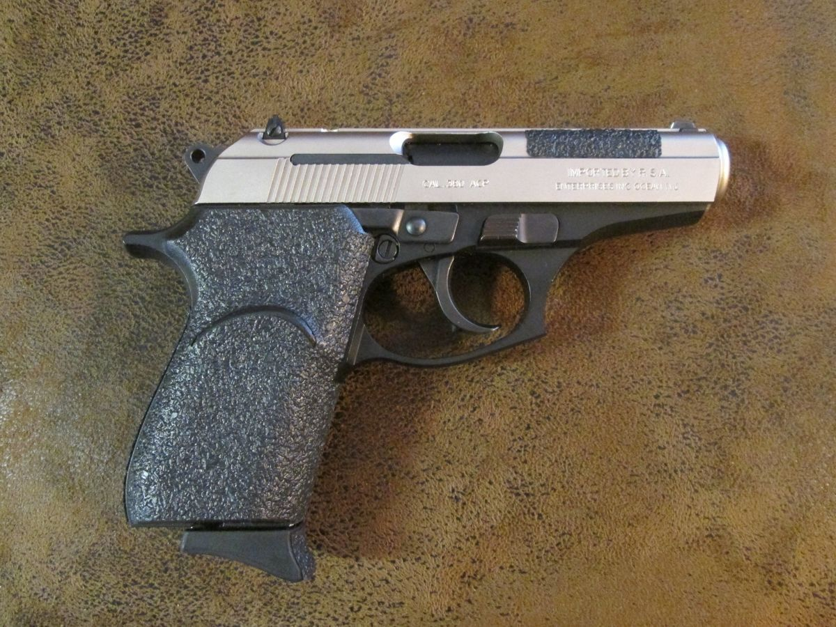 Primary image for Black Textured Rubber Grip Enhancements for the Bersa Thunder .380 ACP & .22 LR