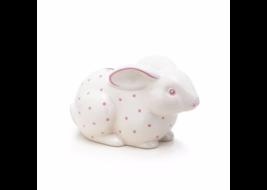 Bunny bank in earthenware, pink. | Tiffany & Co. - $80.00