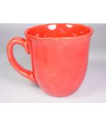 Ballard Designs PRIMVERE scalloped rim Mug red 6030038 - $29.72