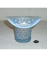 Duncan and Miller Hobnail Blue Opalescent Hat Vase - $19.95