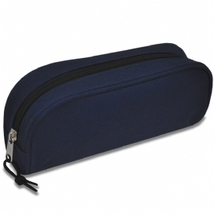 Deluxe Pencil Pouch Blue New! - $4.89