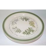 """Vintage Corelle Corning Thymeless Herbs  Dinner Plates 10 1/4 """" Set of 6 - $34.99"""