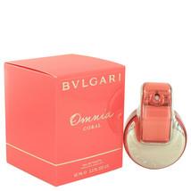 Omnia Coral by Bvlgari Eau De Toilette Spray 2.2 oz - $53.95