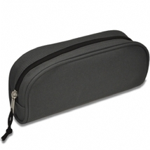 Deluxe Pencil Pouch Gray New! - $4.89