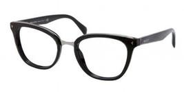 Prada Eyeglasses 06P Black 1AB-1O1 Women's Optical Frame PR06PV 52mm - $179.95