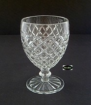WATERFORD WAFFLE CRYSTAL GOBLET 5 1/4 in. Hocking - $9.95