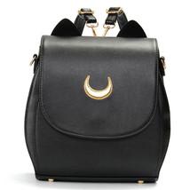 Women Cat Sailor Moon Luna Backpack Girls Cute ... - $47.77