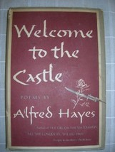 1950 WELCOME to the CASTLE Alfred Hayes 1ST poe... - $25.00