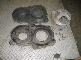 YAMAHA 2004 BRUIN 350 4X4 INNER AND OUTER BELT CLUTCH COVER  PART 30,615 - $50.00
