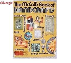 The McCall's Book oF Handcrafts 1972  - $9.99