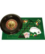 Deluxe Poker 16-Inch Roulette Wheel Casino Game... - $26.18