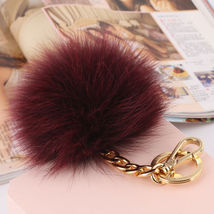 MICHAEL KORS Red Wine Fox RARE Edition PomPom F... - $29.90