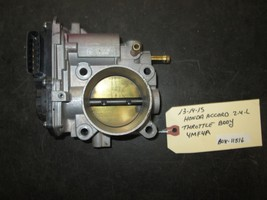 13 14 15 Honda Accord 2.4L Throttle Body #4MF4A *See Item* - $64.30