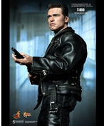 Terminator T2 Arnold T-800 HOT TOYS MMS117 900815 Judgment Day 1:6 Scale - $345.00