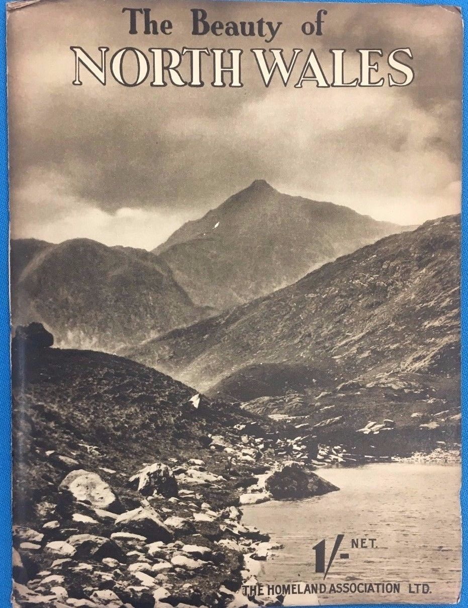 Primary image for THE BEAUTY OF NORTH WALES a Collection of Camera Studies (circa 1920's) UK SC