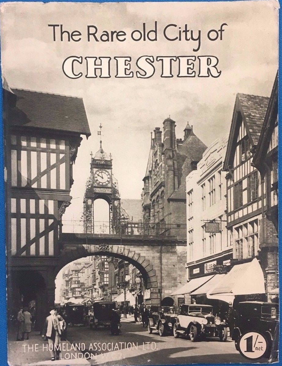 Primary image for THE RARE OLD CITY OF CHESTER a Collection of Camera Studies (circa 1920's) UK SC