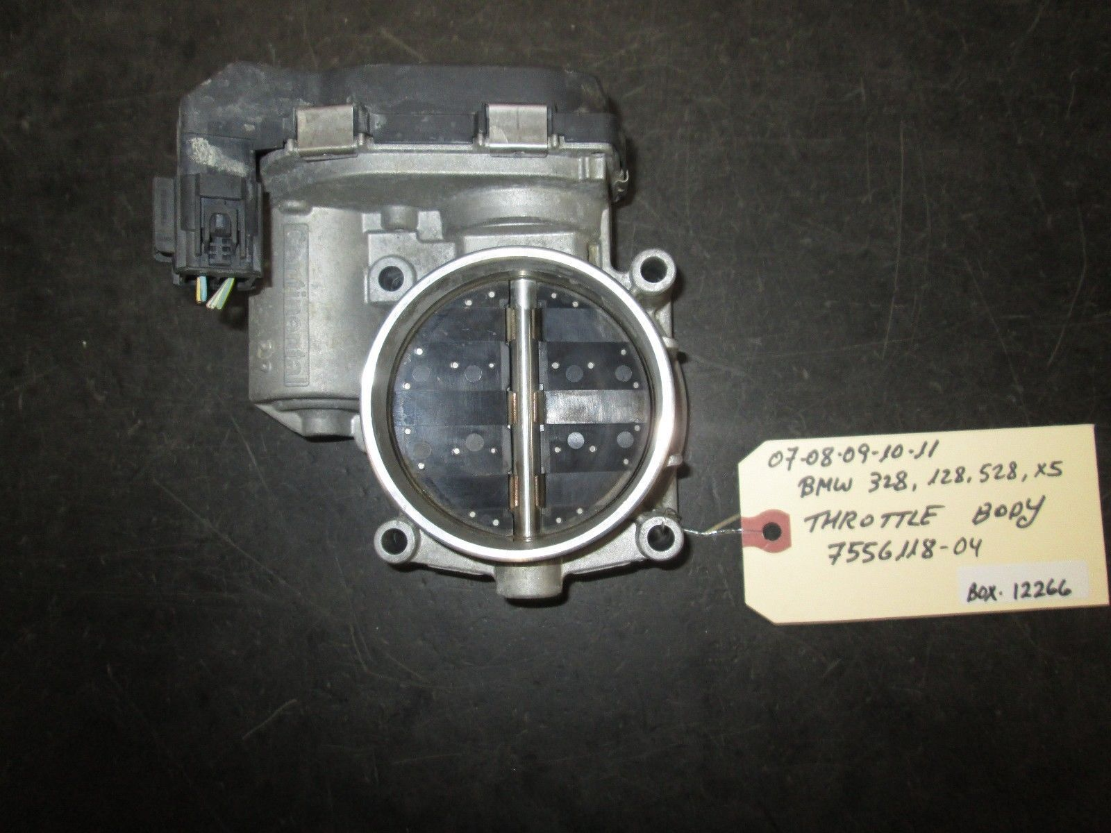 Primary image for 07 08 09 10 11 BMW 328,128,528,X5 THROTTLE BODY #7556118-04 *See item*