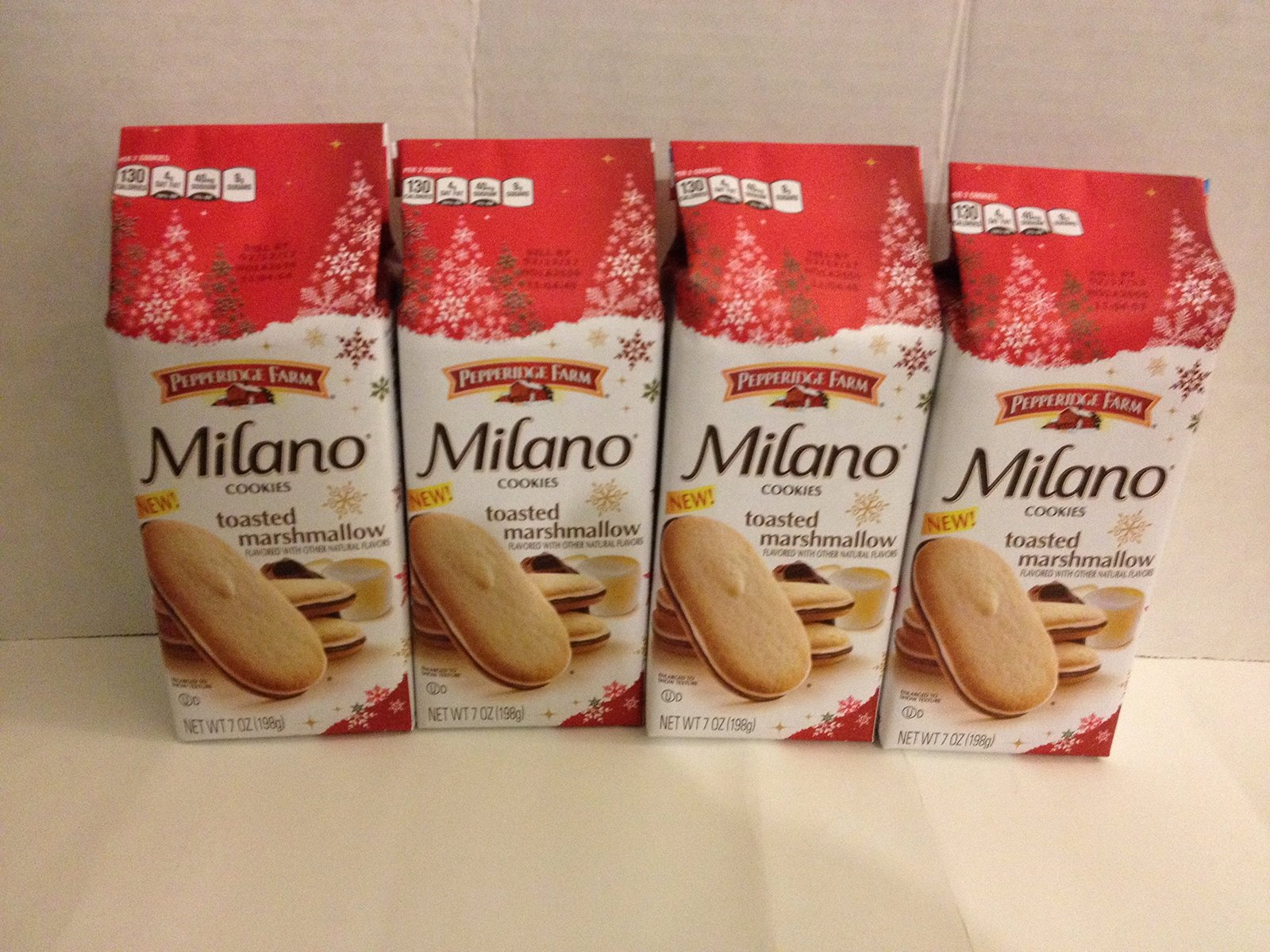 Pepperidge Farm Milano Cookies Toasted Marshmallow (Pack of 4) 7 Oz