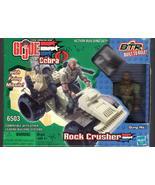 G. I. Joe Vs  Cobra  Rock Crusher BTR - $10.00