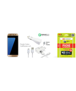 "Straight Talk Samsung Galaxy S7 Edge ""Gold Plat... - $599.99"