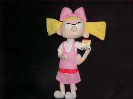 "18"" Nickelodeon Helga Poseable Plush Doll With Tags From Hey Arnold Nanc... - $93.49"