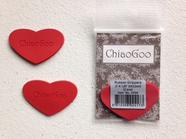 New ChiaoGoo Rubber Grippers for Interchangeable Knitting Needles MPN 2599 - $5.93