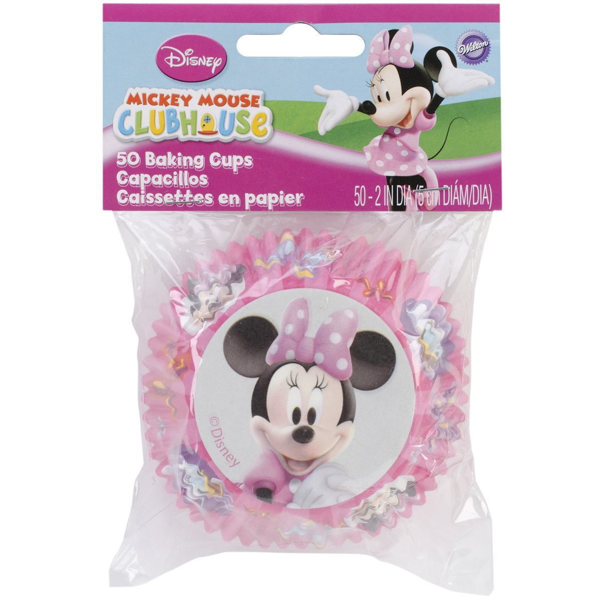 Wilton Disney Mickey Mouse Clubhouse Minnie Baking Cups - $4.90