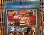 Spy Game/State of Play (2-Disc Blu-ray)Brad Pitt/Robert Redford-Ben Affleck/Crow
