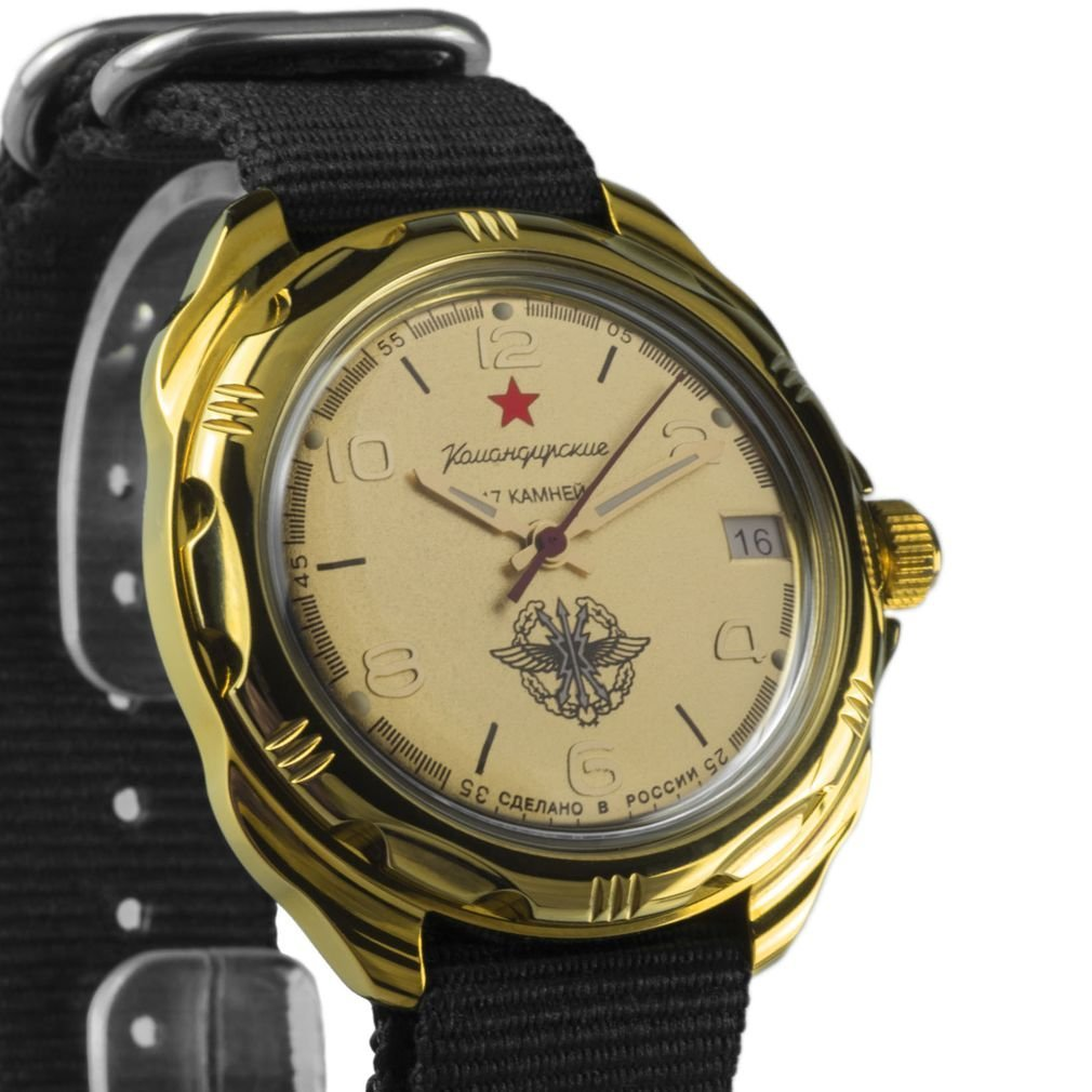 Primary image for Vostok Komandirskie 2414 219451NB Russian Military Mechanical Watch
