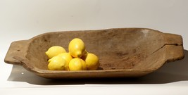 "24""x 12"" Antique Primitive Trencher Dough Bowl ... - $121.15"