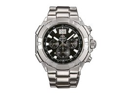 Orient Mens Watch Chronograph FTV00003B - $324.95