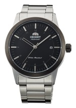 "ORIENT ""Sentinel"" Classic Automatic with Hand Winding Watch Black FAC05001B - $198.85"
