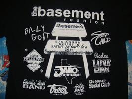 THE BASEMENT Dallas Heavy Metal Concert Tour Venue Pantera T shirt Adult S - $19.79
