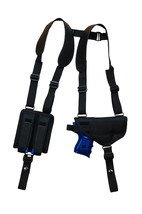 NEW Barsony Shoulder Holster w/ Dbl Mag Pouch for Sig-Sauer Compact 9mm 40 45 - $54.99