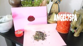 MAGICK LOVE ENVELOPE SEAL  WITH THE POWER OF YO... - $185.00