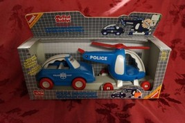 New Vintage Buddy L My First Buddy Police Department 1988 Deadstock Xmas Gift - $14.84