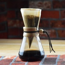 High-Quality Chemex Style Coffee Brewer 1-3 Cup... - $36.38
